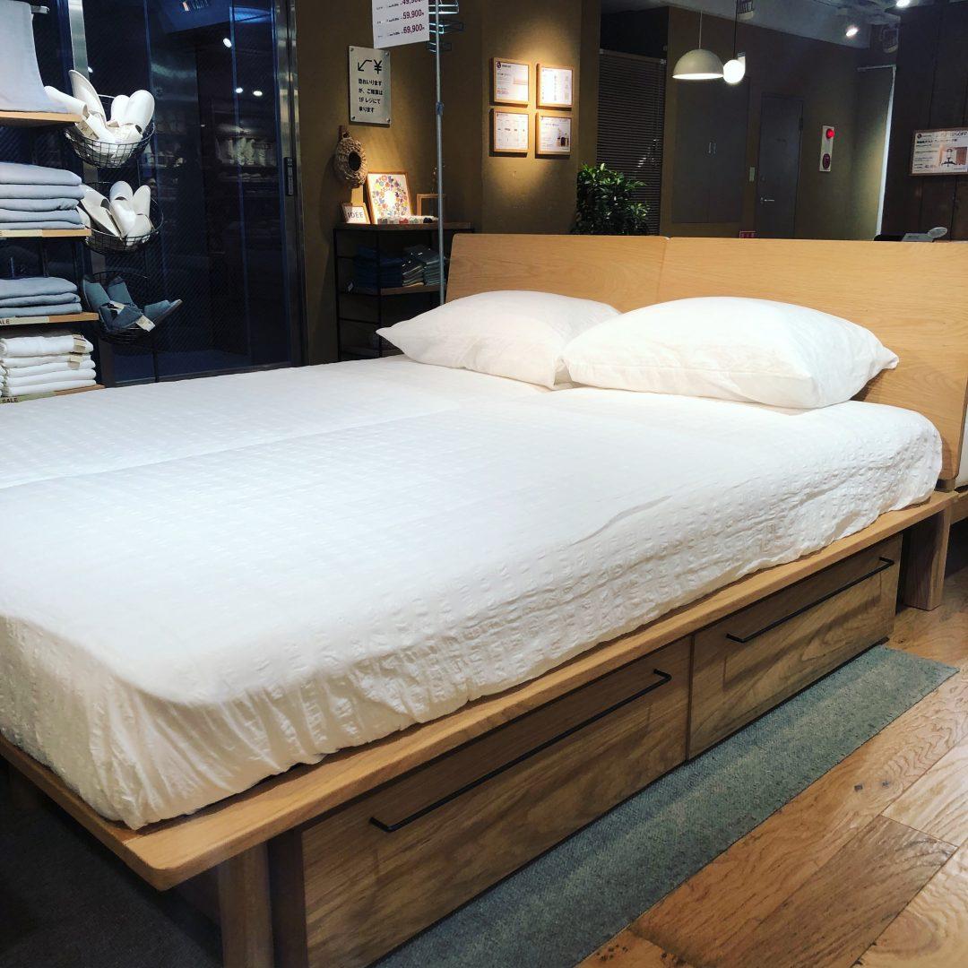 無印 良品 ベッド シンプルが好き♪無印良品のベッドを取り入れた寝室10選